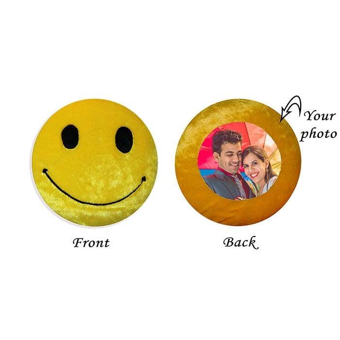 Smily Round Emoji Cushion