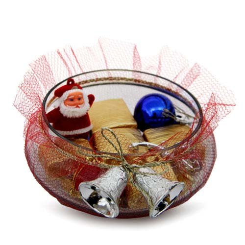 Chocolate Glass Bowl
