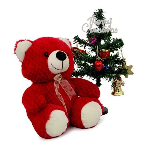Christmas Tree N Teddy Bear