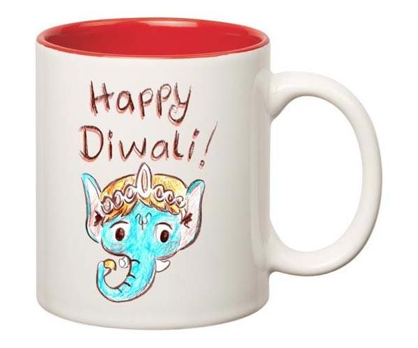 Happy Diwali Ganesha  Mug