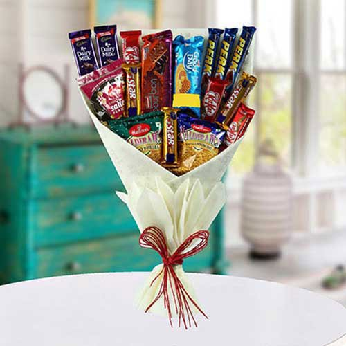 Mix Snacks Bouquet