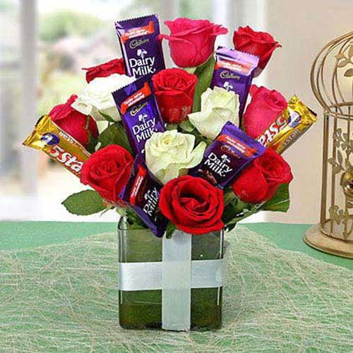 Perfect Choco Flower