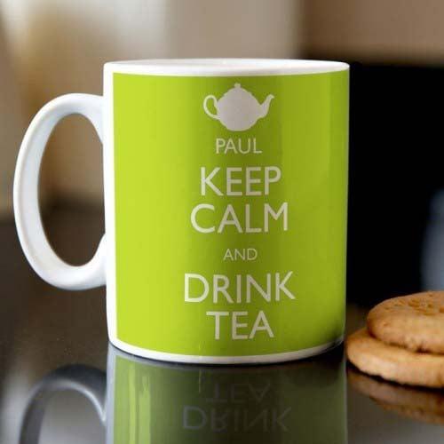 Personalised Mug - Keep Calm and Drink Tea