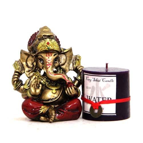 Scented Candle N Ganesha Idol Vinayaka