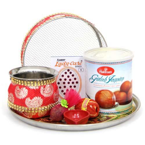Sweets n Thali Gift