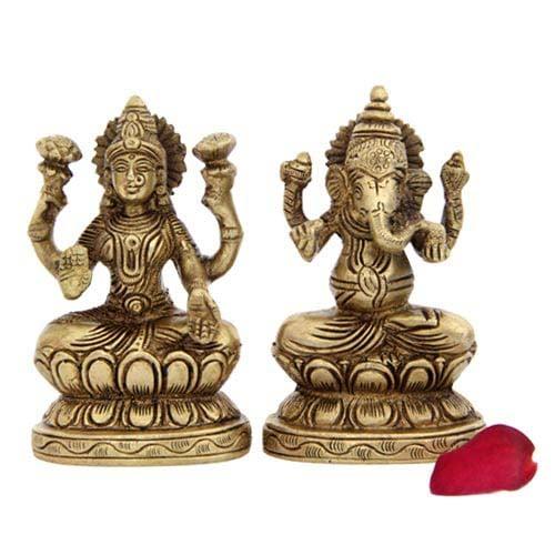 Lakshmi N Ganesh Idols