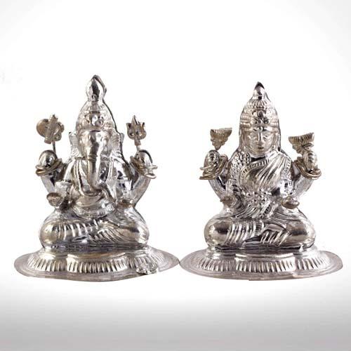 Laxmi Ganesha 25 Gms Silver