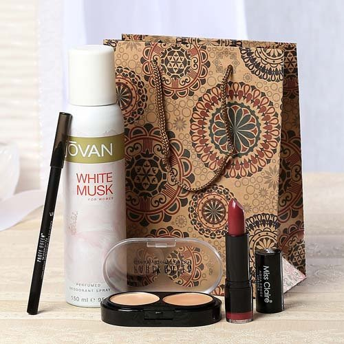 Deodorant Spray With Classic Cosmetics In Goodie Bag