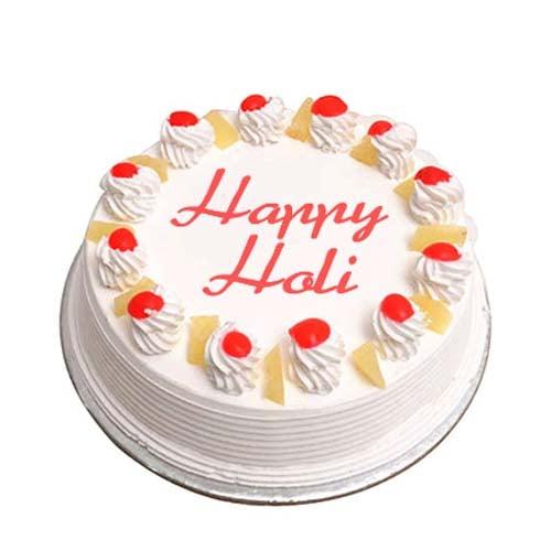 Holi Special Pineapple Cake 1Kg