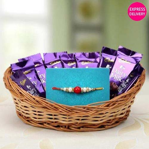 Chocolate Basket Full Of Love