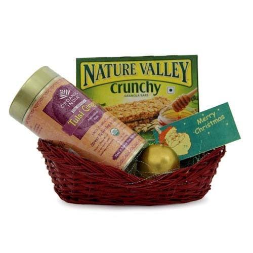 Green Tea N Crunchy Basket