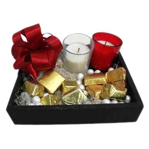 Chocolates N Candles Tray