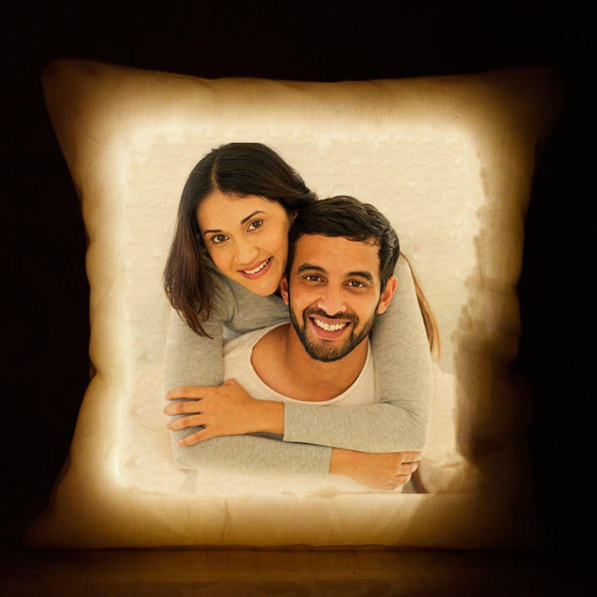 Personalized LED Photo Cushion