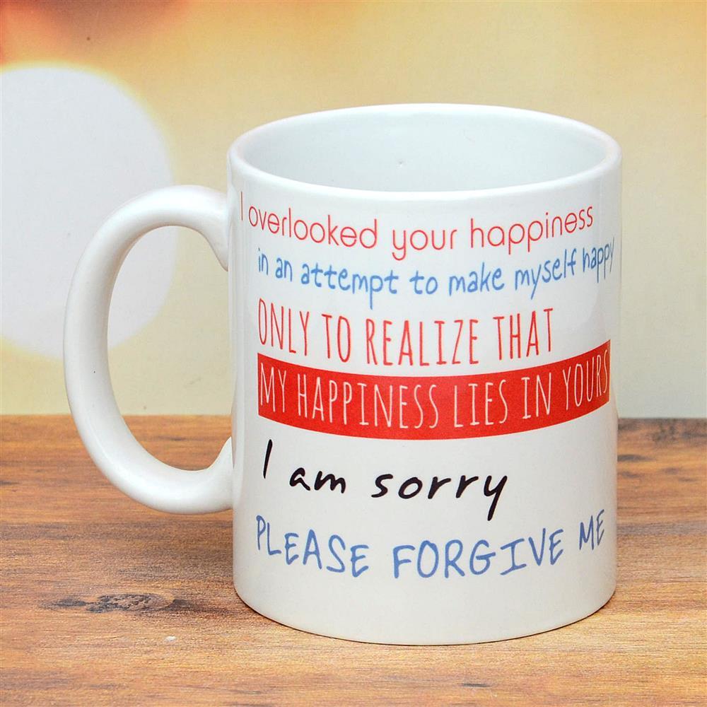 I Am So Sorry Mug