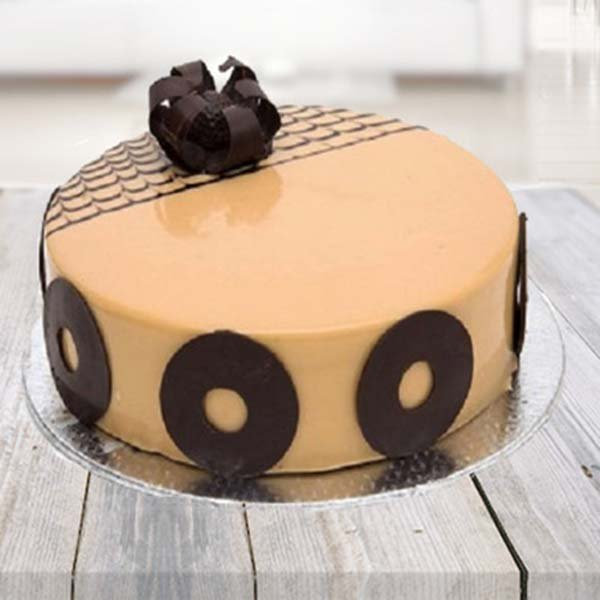 Half kg Hazelnut Cappuchino Cake