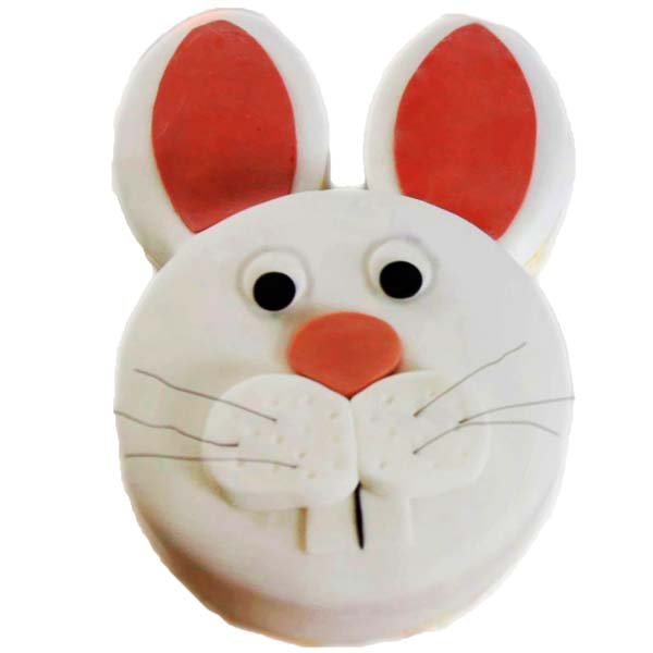 Angry Easter Bunny 2 Kg Cake