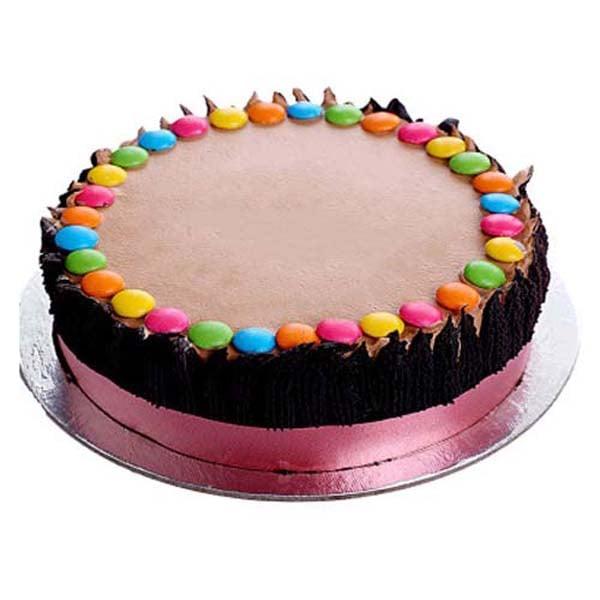 Half kg Funky Chocolate Gem Cake