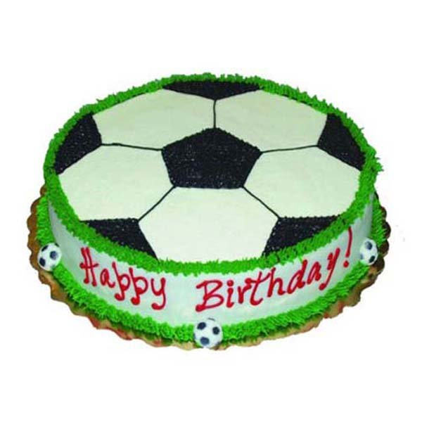 2 kg Football cream cake