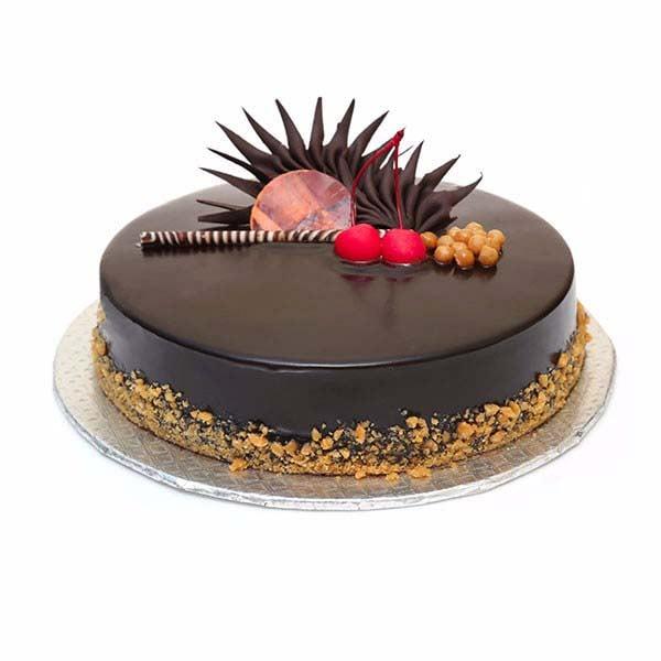 Belgian Chocolate Twister Cake