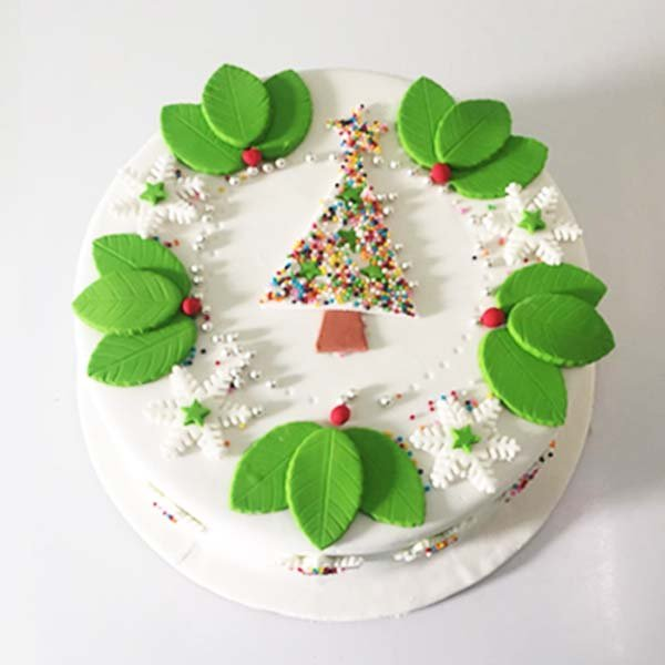 Butterscotch Christmas Cake