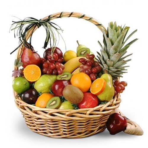 Refreshing 3 Kg  Fruits Basket