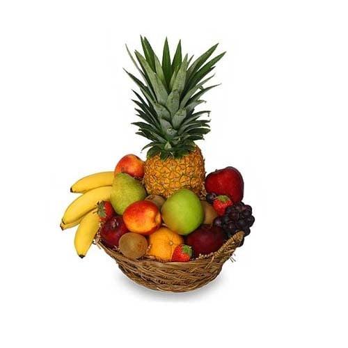 Delicious 4 kg Basket of Fruits