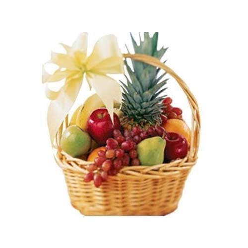 Attractive 3 kg Basket Fresh Fruits