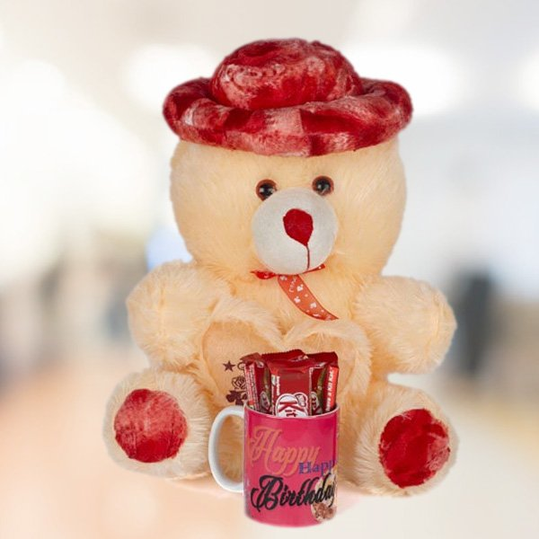 The Red Teddy Combo