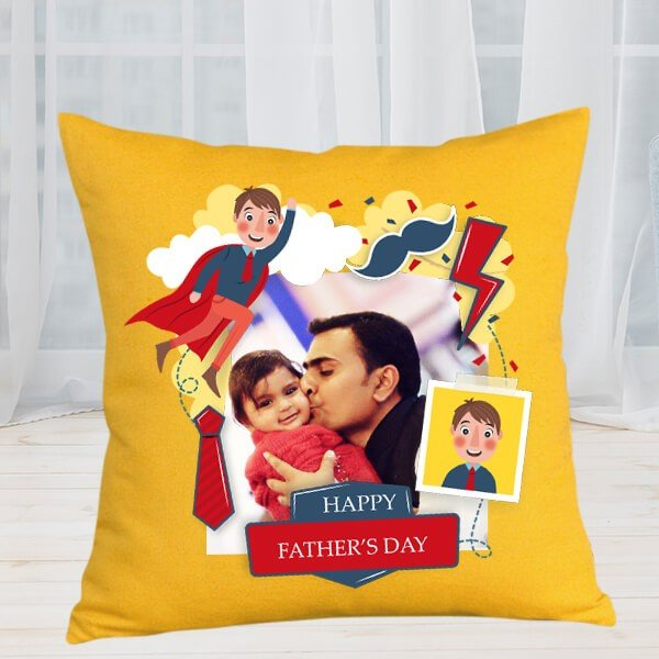 Father's Love Personalized Cushion