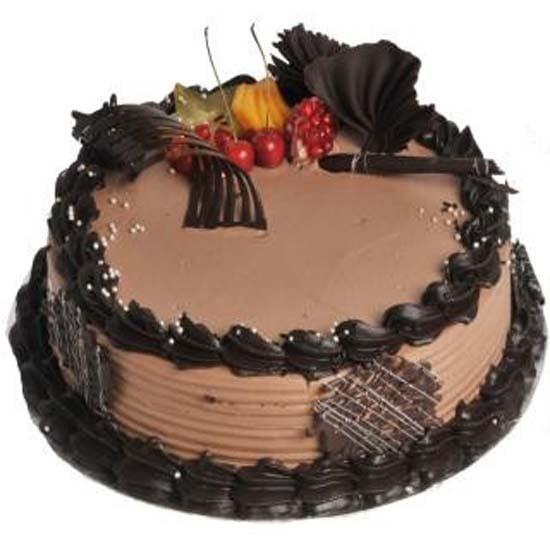 Chocolate Cream Gateaux Cake 1 KG
