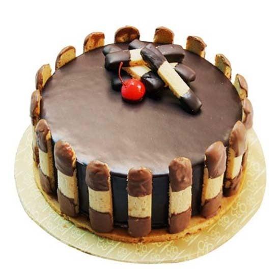 1kg Crunchy Chocolate Cake