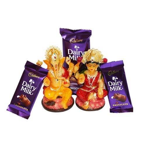 Chocolaty Diwali Divine blessings