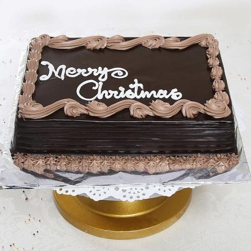 1 Kg Christmas Chocolate Cake