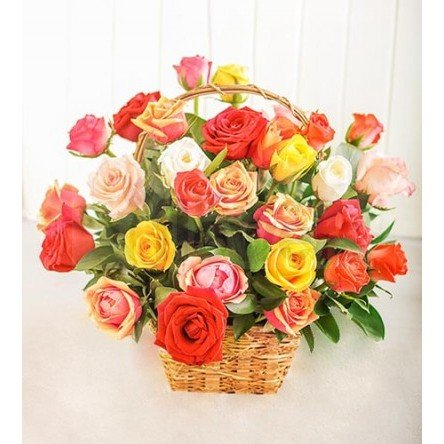 Ruby Colorful Basket