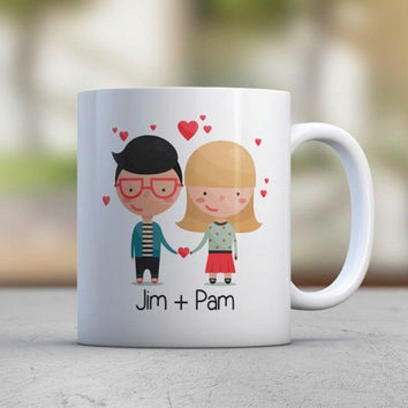 Custom Avatar Couple Gift
