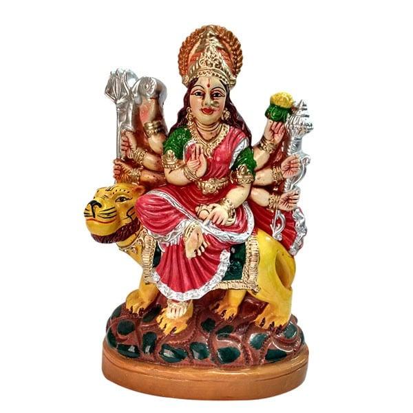 Divine Statue of Sherawali Maa