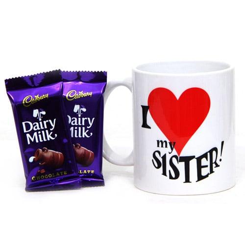 Sister Mug N Chocolates