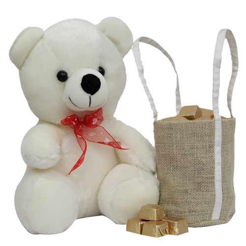 Teddy n Bag of Chocolates