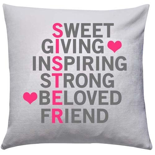 Beloved Sister Cushion