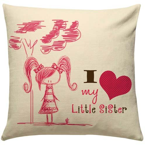Little Sister Love Cushion