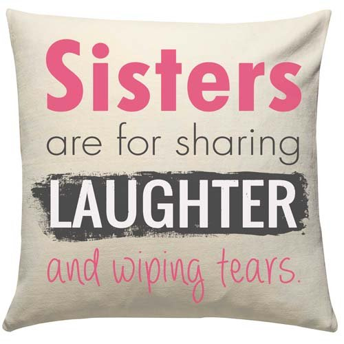 Share Secret Cushion For Sis