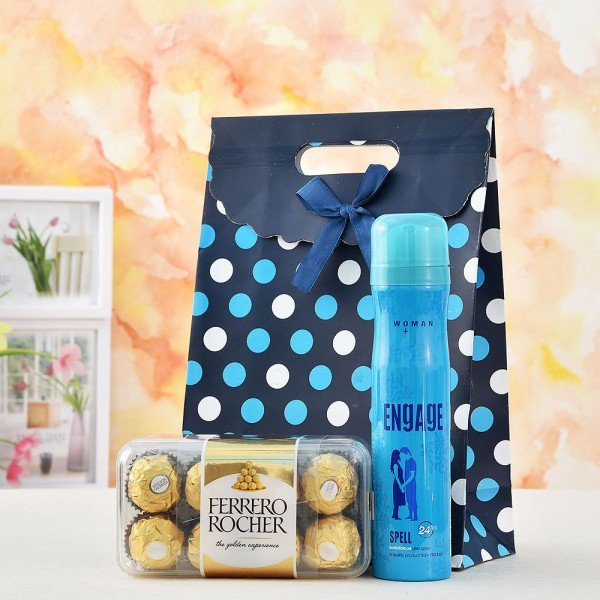 Engage Deodorant And Chocolate Hamper