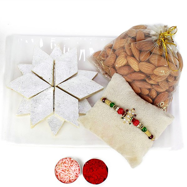 BARFI AND ALMOND SPECIAL RAKHI COMBO