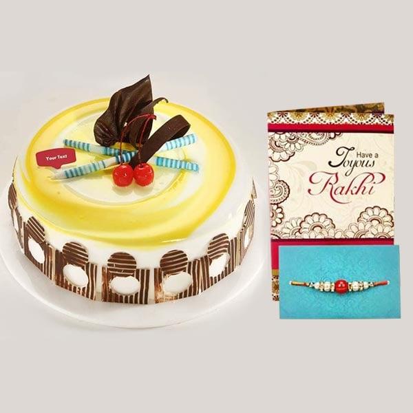 Rakhi Delicious Pineapple Cake