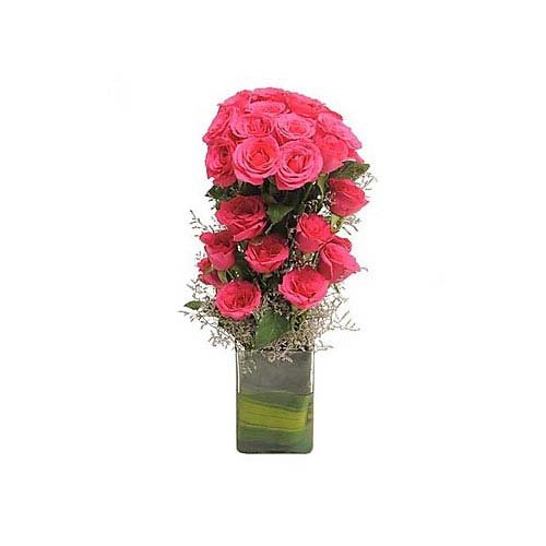 Pink Roses - Bouquet