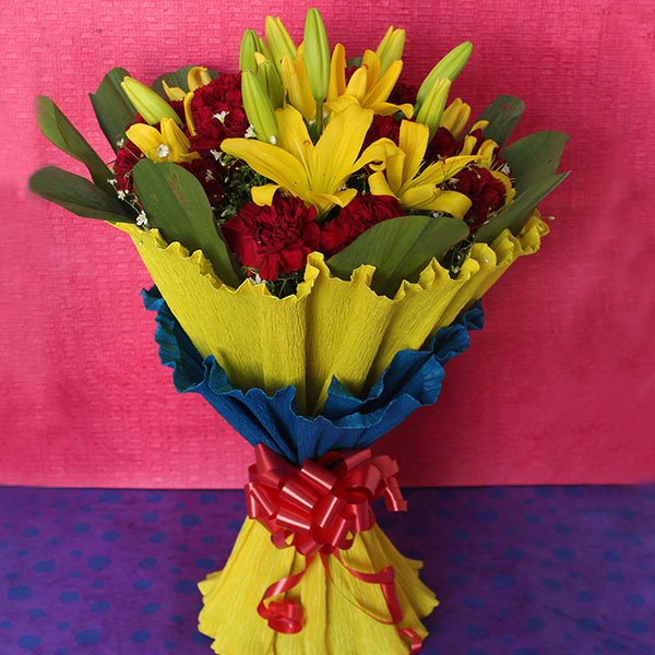 Colorful Floral Gift