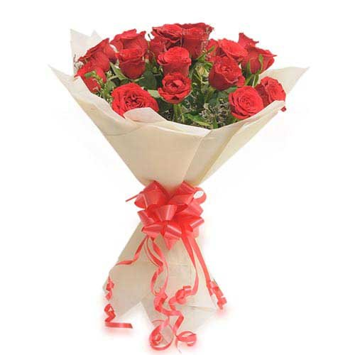 20 Red Roses - Bouquet
