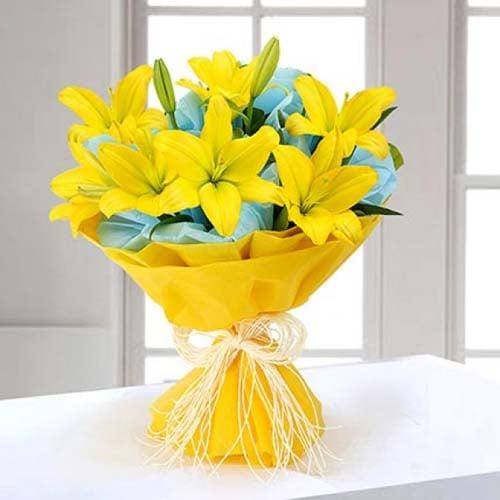 Amazing love on lillies