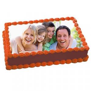 1kg Chocolate Delight Photo Cake