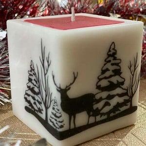 Premium SquareSoy Pillar Fragrance candle